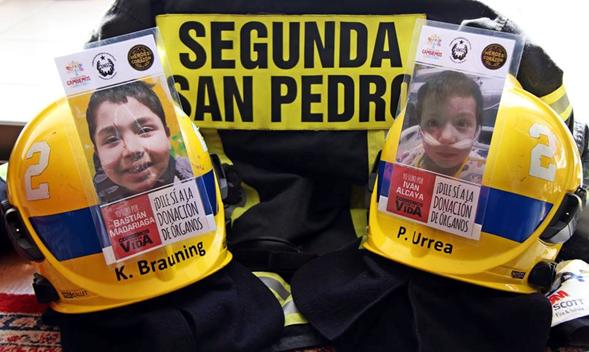 """SEGUNDA SAN PEDRO PARTICIPA EN CAMPAÑA """"CORREMOS POR LA VIDA""""."""